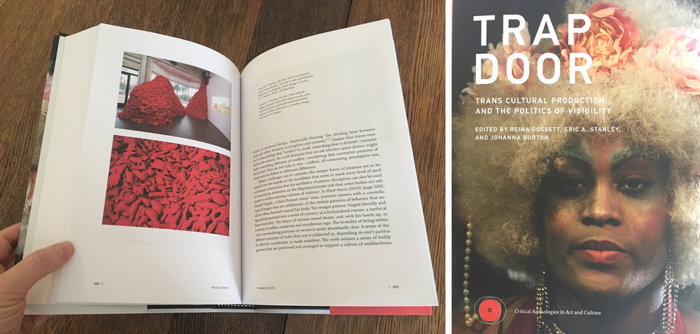 Copy of The Pile featured in Trap Door: Trans Cultural Production and the Politics of Visibility, MIT/New Museum Press, 2018