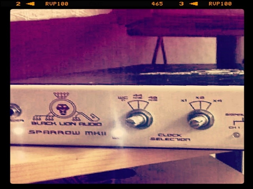 Black Lion Audio white sparrow