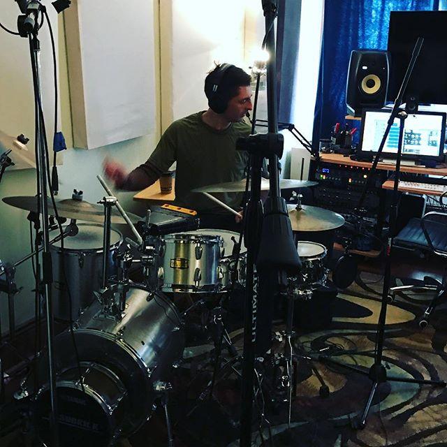 #drums #recording @james.saintamour @pancake_studios