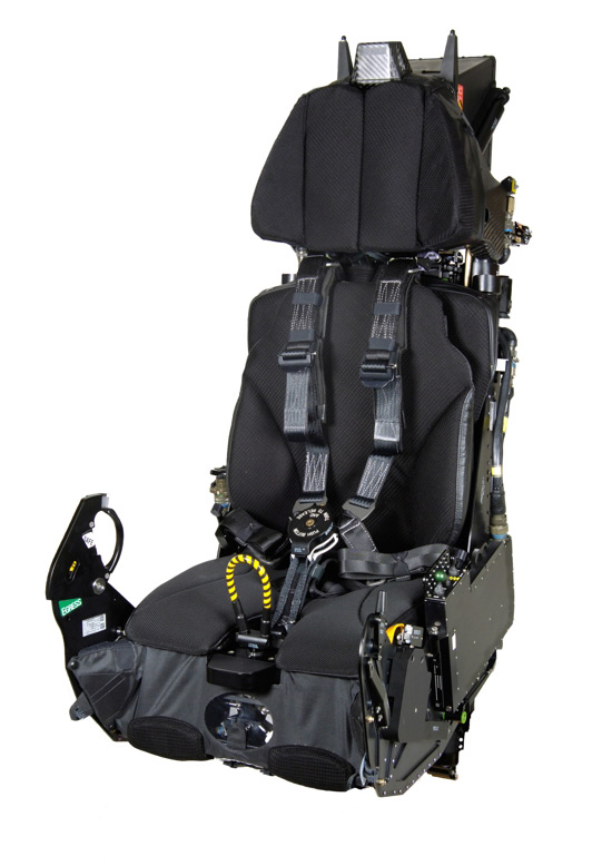 JSF Ejector seat - copy right  ©  Martin Baker Aircraft Company Limited 2014