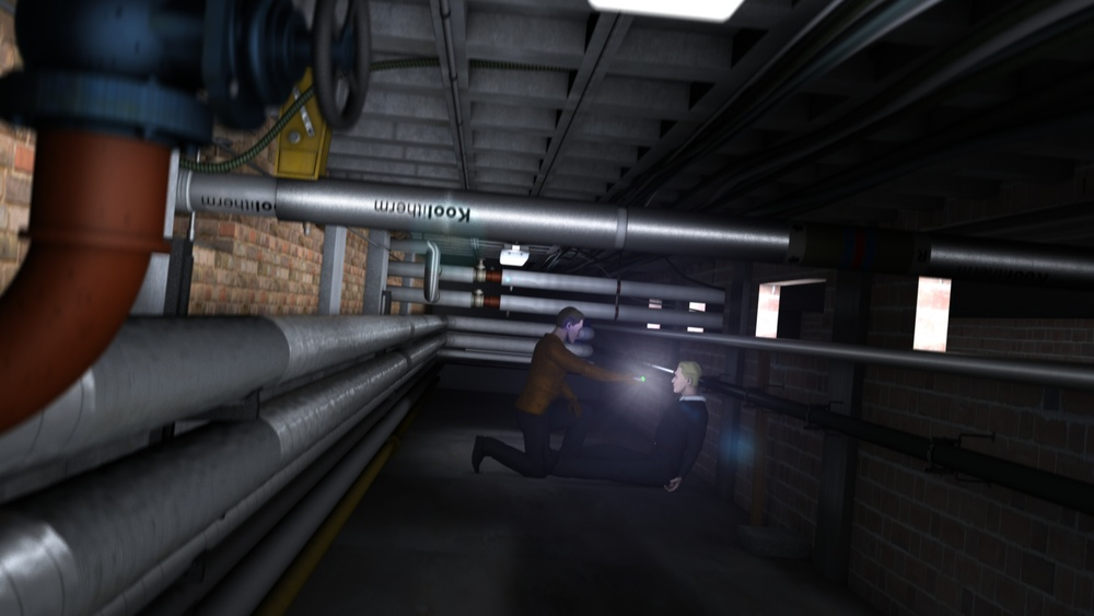 The Tunnels from the Sci-Fi Thriller Dreamscape - HD Test frame