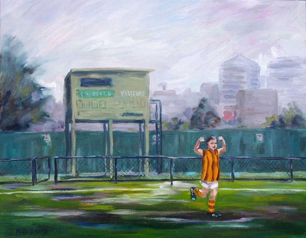 oil on canvas 50cmW x 40cmH $425