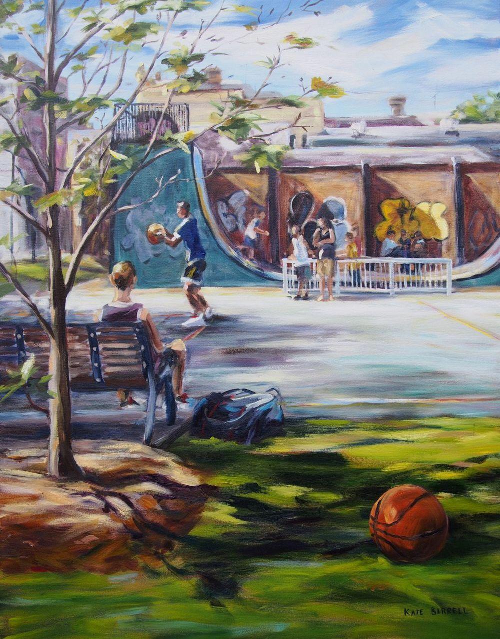 Oil on Canvas 76cmW x 100cmH sold 2014