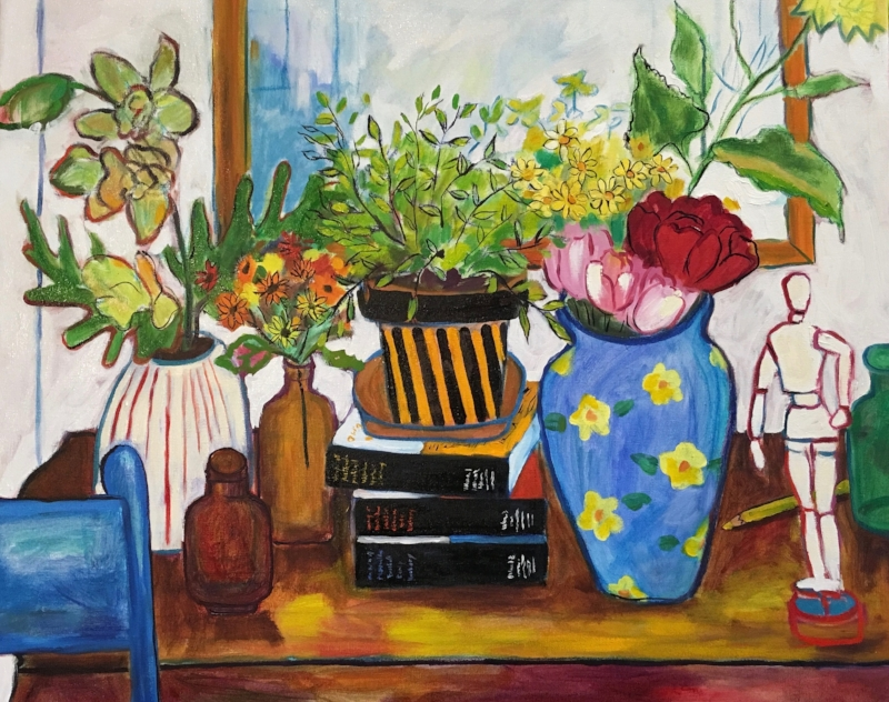 Still Life with Pots and Jars and Other Things