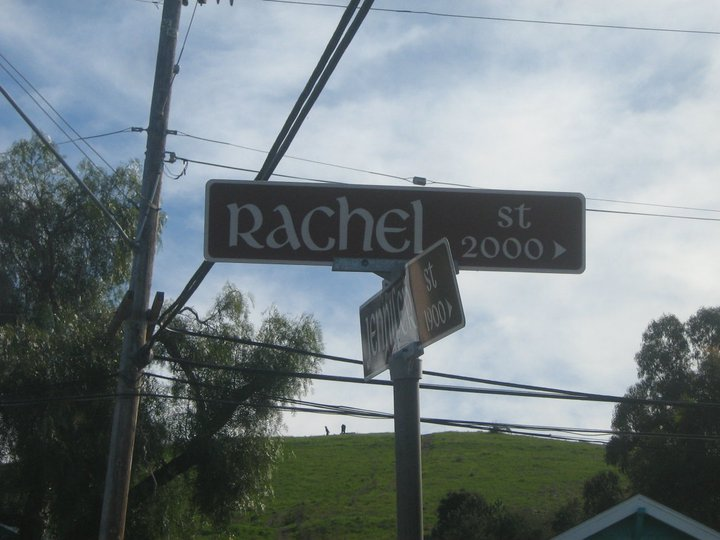 Rachel St. in California.