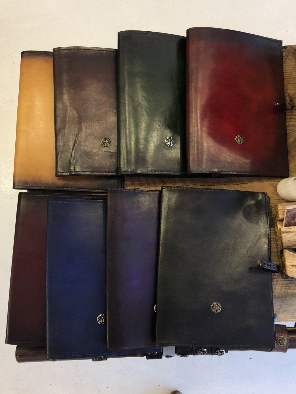 Leather Folder by L. Howard