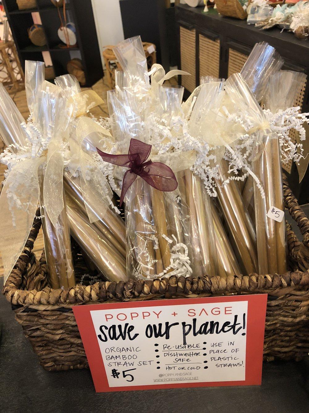 Eco-Friendly Straws by Poppy+Sage