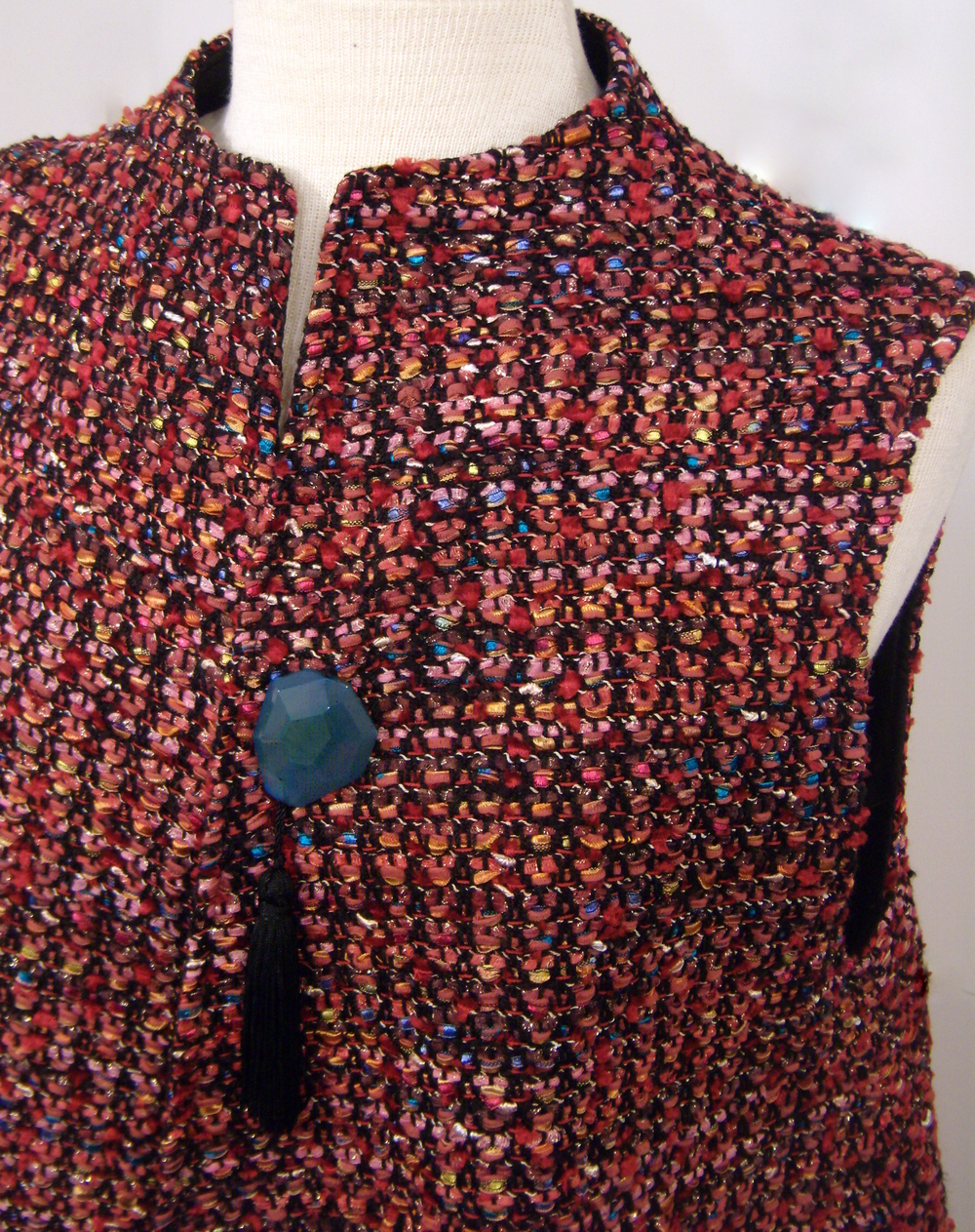 Handwoven Vest, Kathleen Weir-West, Business Clothing 4.JPG