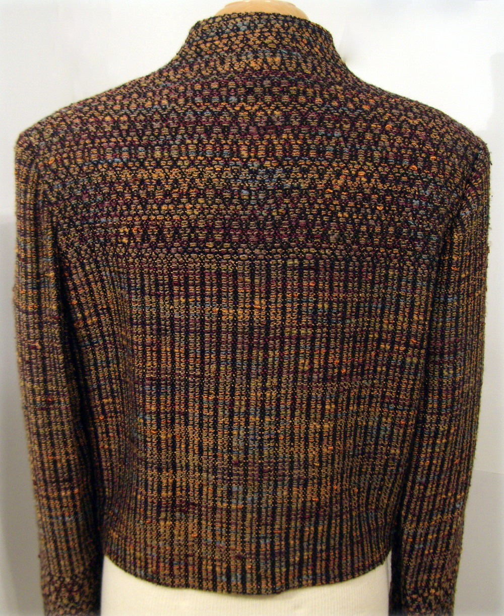 Hand Woven Jacket, Kathleen Weir-West, Fiber Art 7.JPG