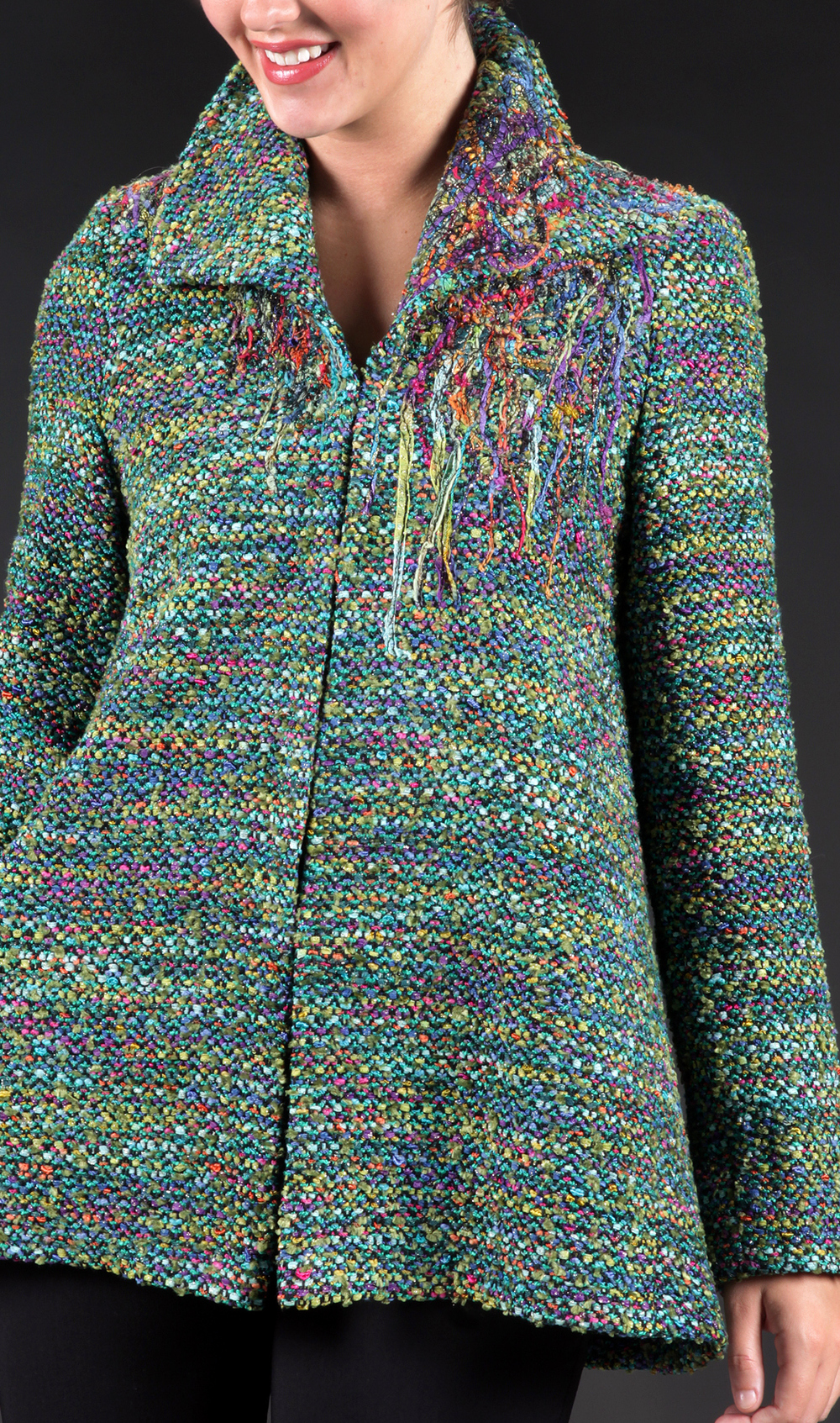 Handwoven Coat, Kathleen Weir-West, Business Wear 101