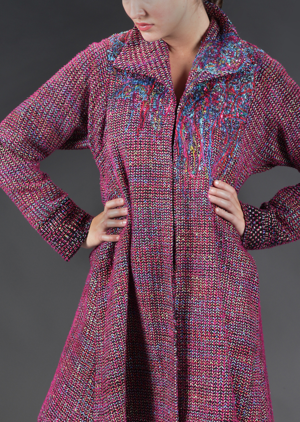 Handwoven Coat, Kathleen Weir-West, Business Wear 4.jpg