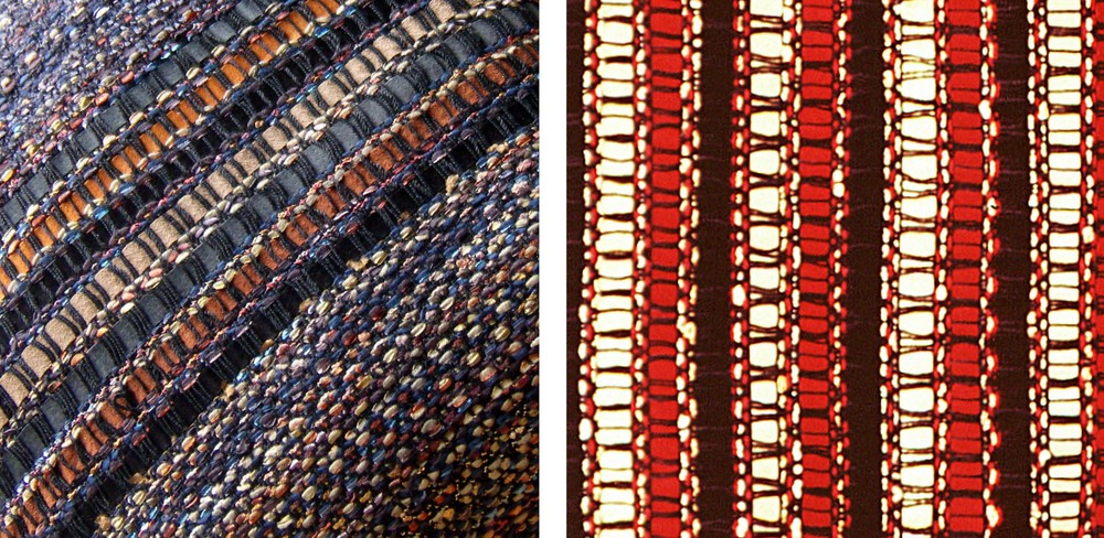 WOVEN LEATHER comes in a full range of colors.