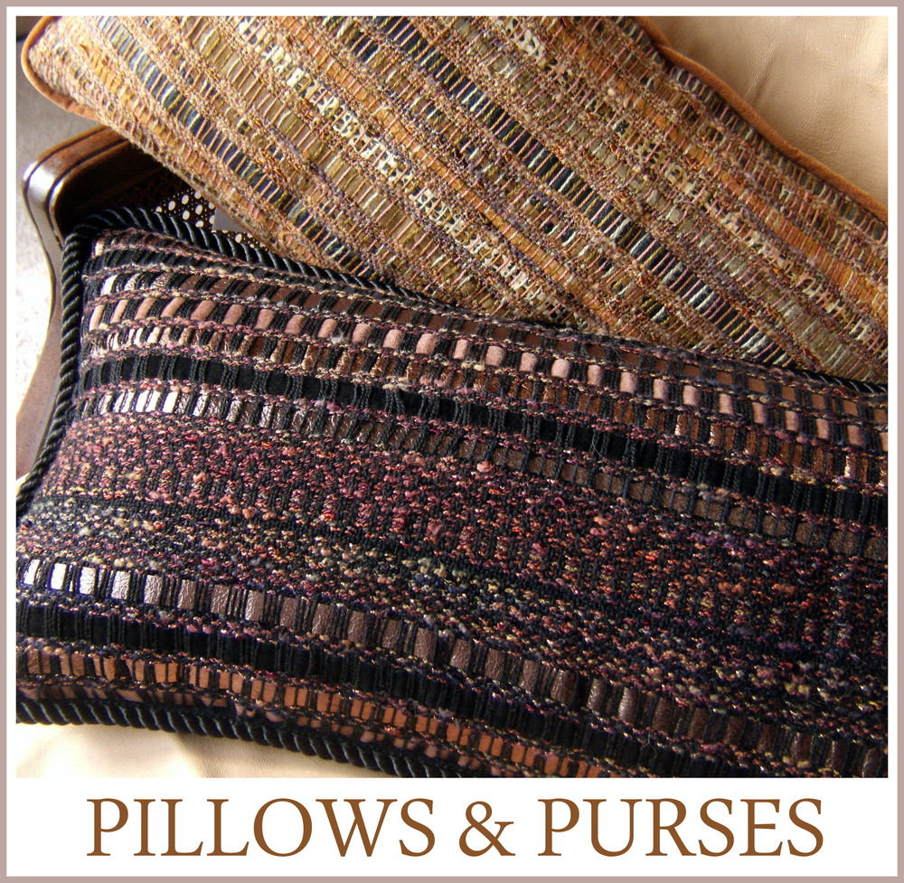 Pillows, Handwoven, Kathleen Weir-West 3-002.JPG