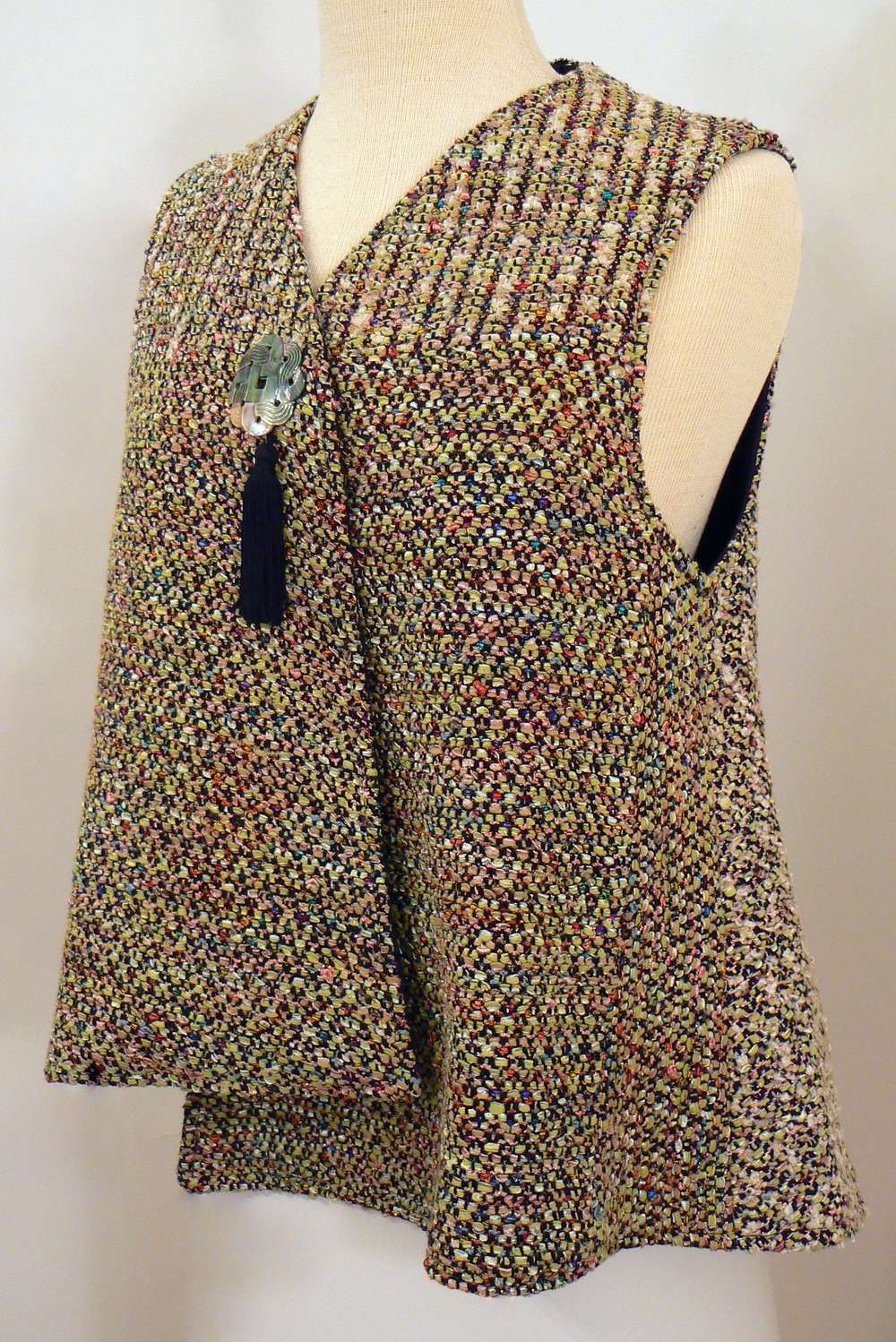 Handwoven Clothing, Vest, Kathleen Weir-West, 12-001.JPG