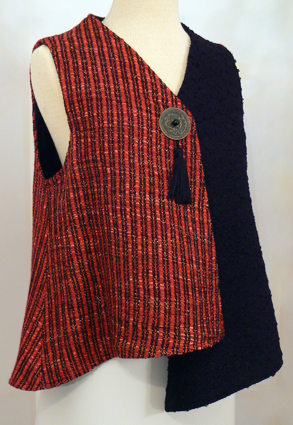 Handwoven Clothing, Vest, Kathleen Weir-West, 36-001.JPG