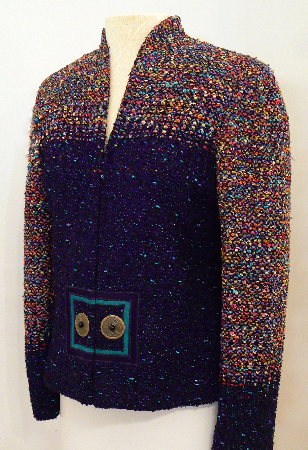 Handwoven Clothing, Jacket, Kathleen Weir-West, 19-001.JPG