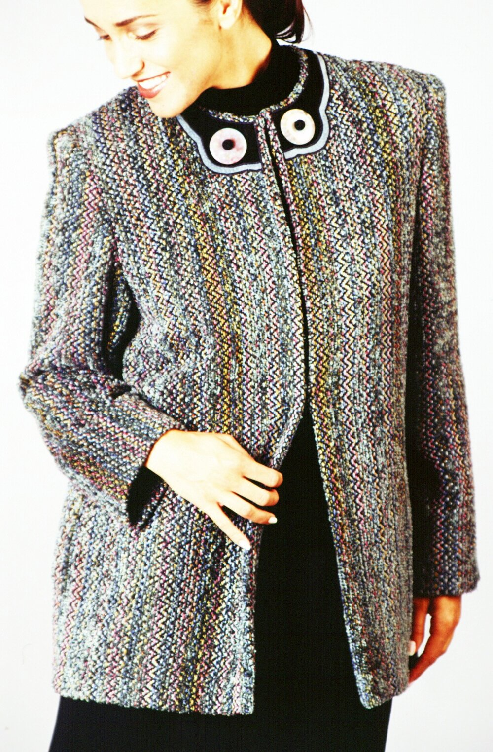 Handwoven Jacket, Business Apparel, Kathleen Weir-West 11.JPG
