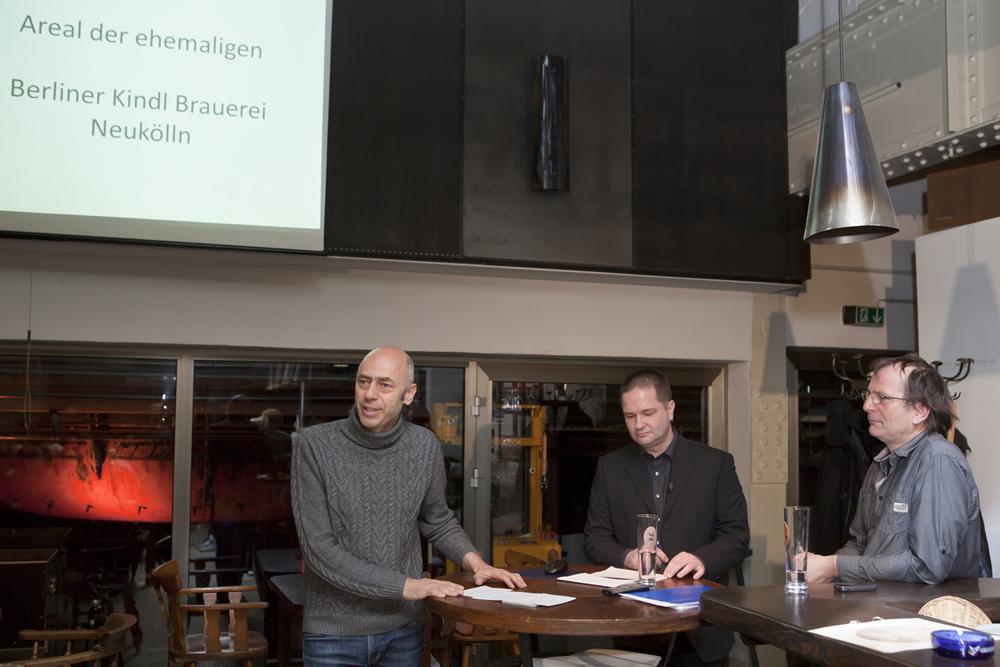 f.l.t.r. Andreas Fiedler, Matthias Gerlitzki, Dr. Rainer Pomp