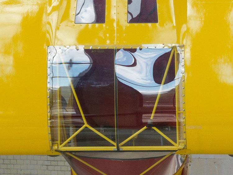 Roman Signer, Kitfox Experimental, 2014 (detail)
