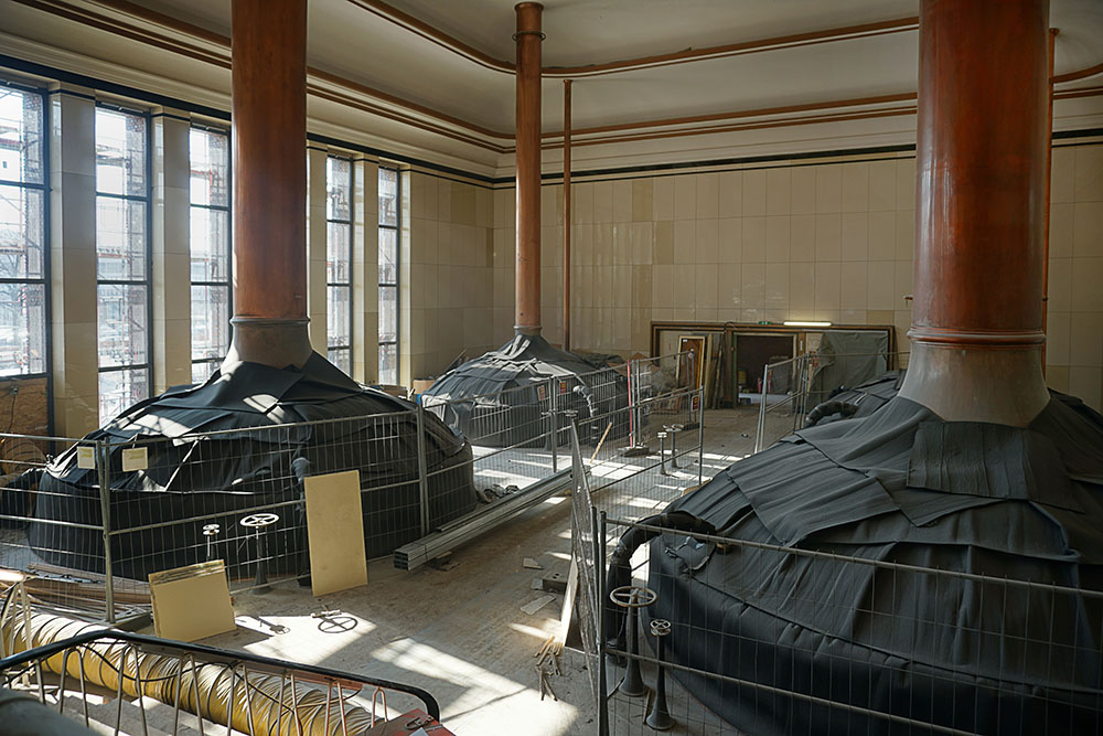 Refurbishment Sudhaus (Brew House)