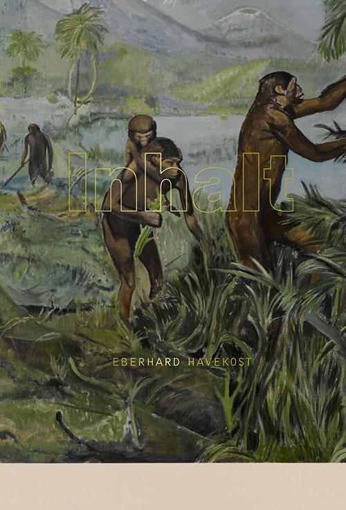 Cover, Exhibition catalogue Inhalt von Eberhard Havekost