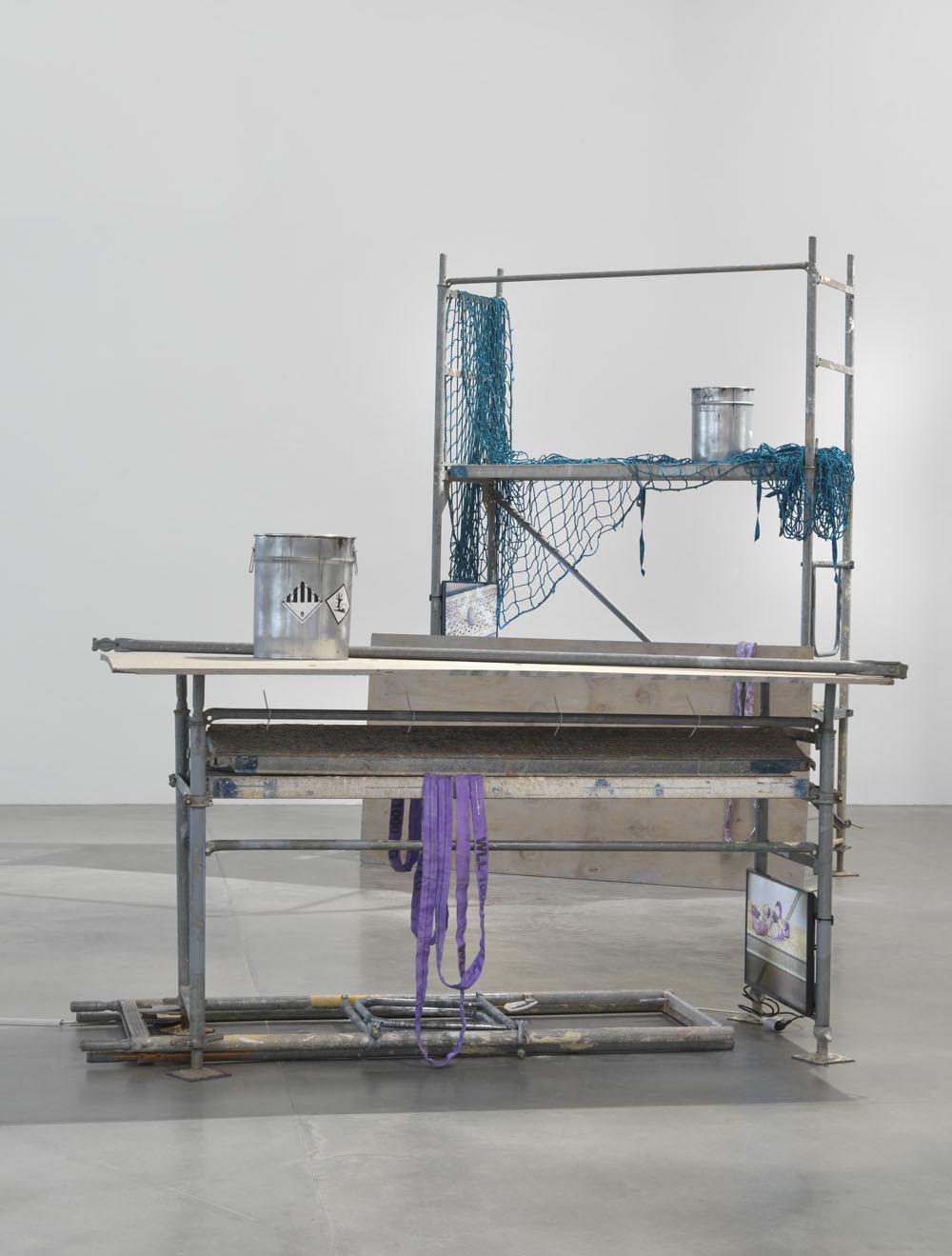 Sofia Hultén:  Unstable Fakers of Change in Self , Exhibition view KINDL – Centre for Contemporary Art; © Sofia Hultén VG BILD-KUNST, Bonn, 2018; Photo: Jens Ziehe, 2018