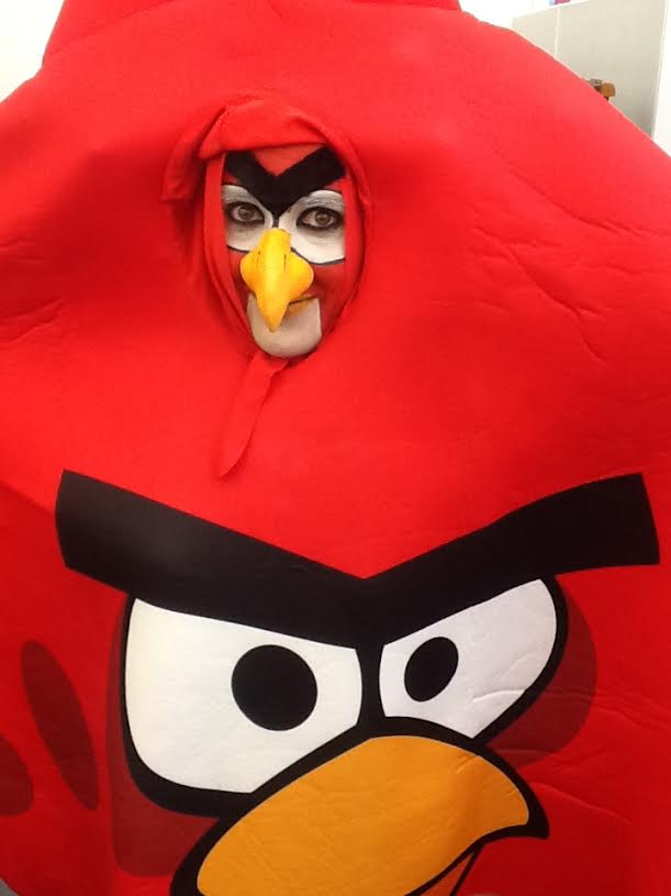 PJ from ZM as ANGRY BIRDS by BACKLASH