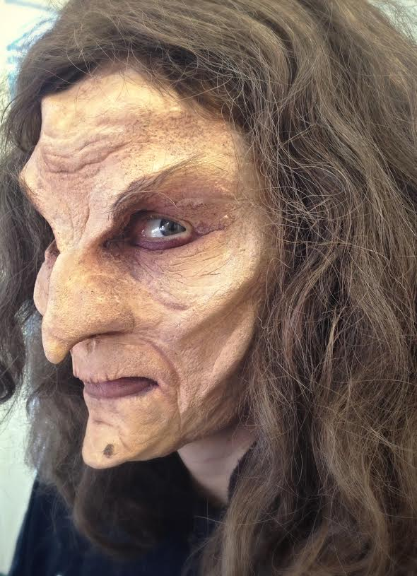 Sculpt, hair laying, paint, application by BACKLASH