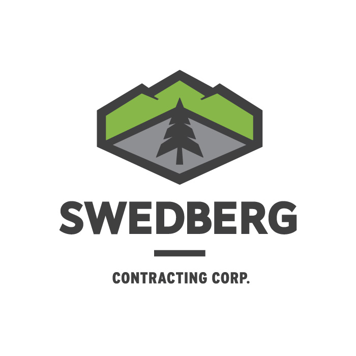 <strong>SWEDBERG <br>CONTRACTING</strong> <br> — <br> New Identity<br> Website + More