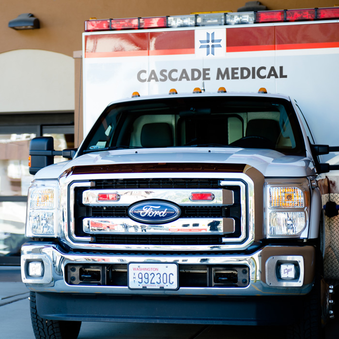 <strong>CASCADE MEDICAL</strong> <br> — <br> New Identity <br> + <br>Comprehensive Branding