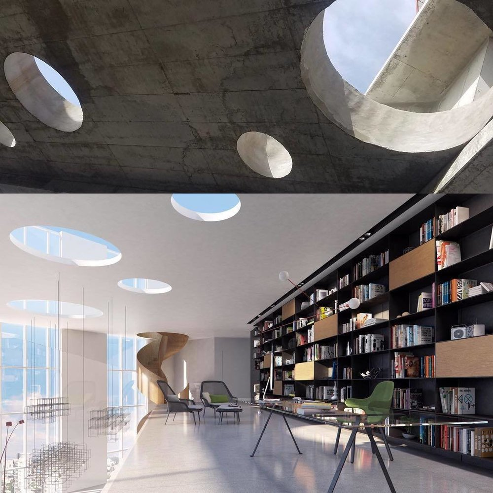 BP Penthouse. (Courtesy of  Pitsou Kedem Architects )