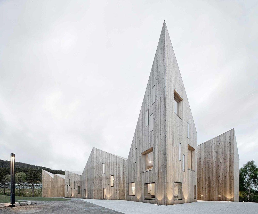 Romsdal Folk Museum. (Courtesy of Reiulf Ramstad Architects)