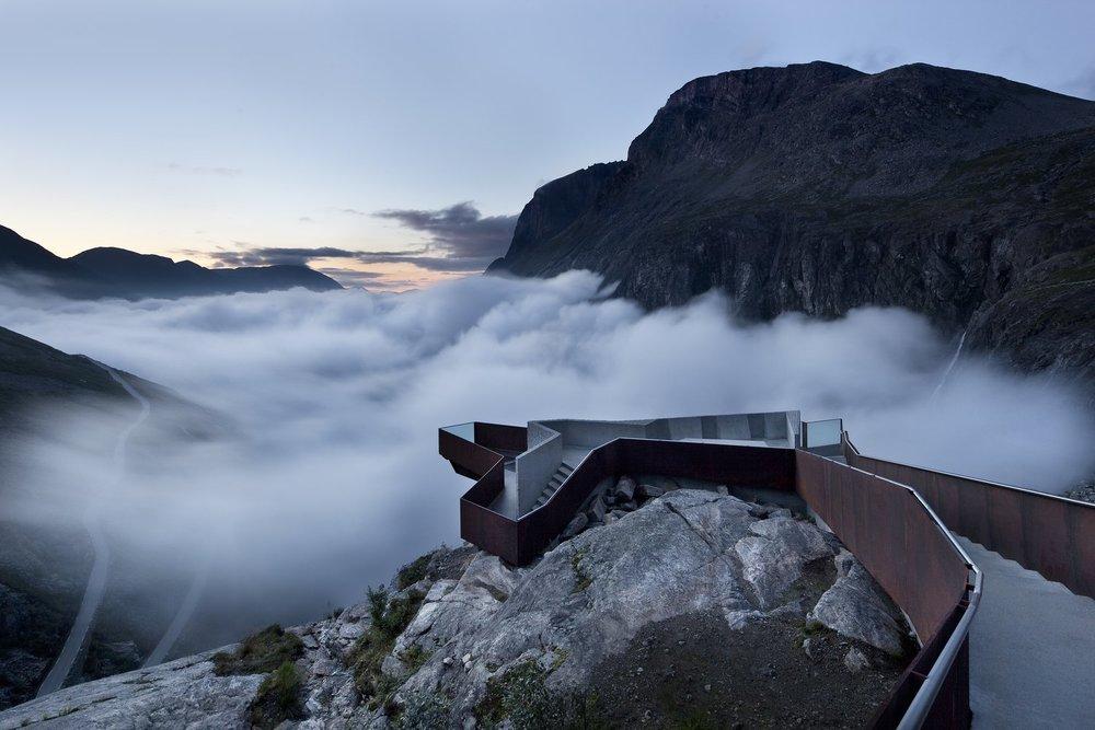 Trollstigen Visitor Centre. (Courtesy of Reiulf Ramstad Architects)
