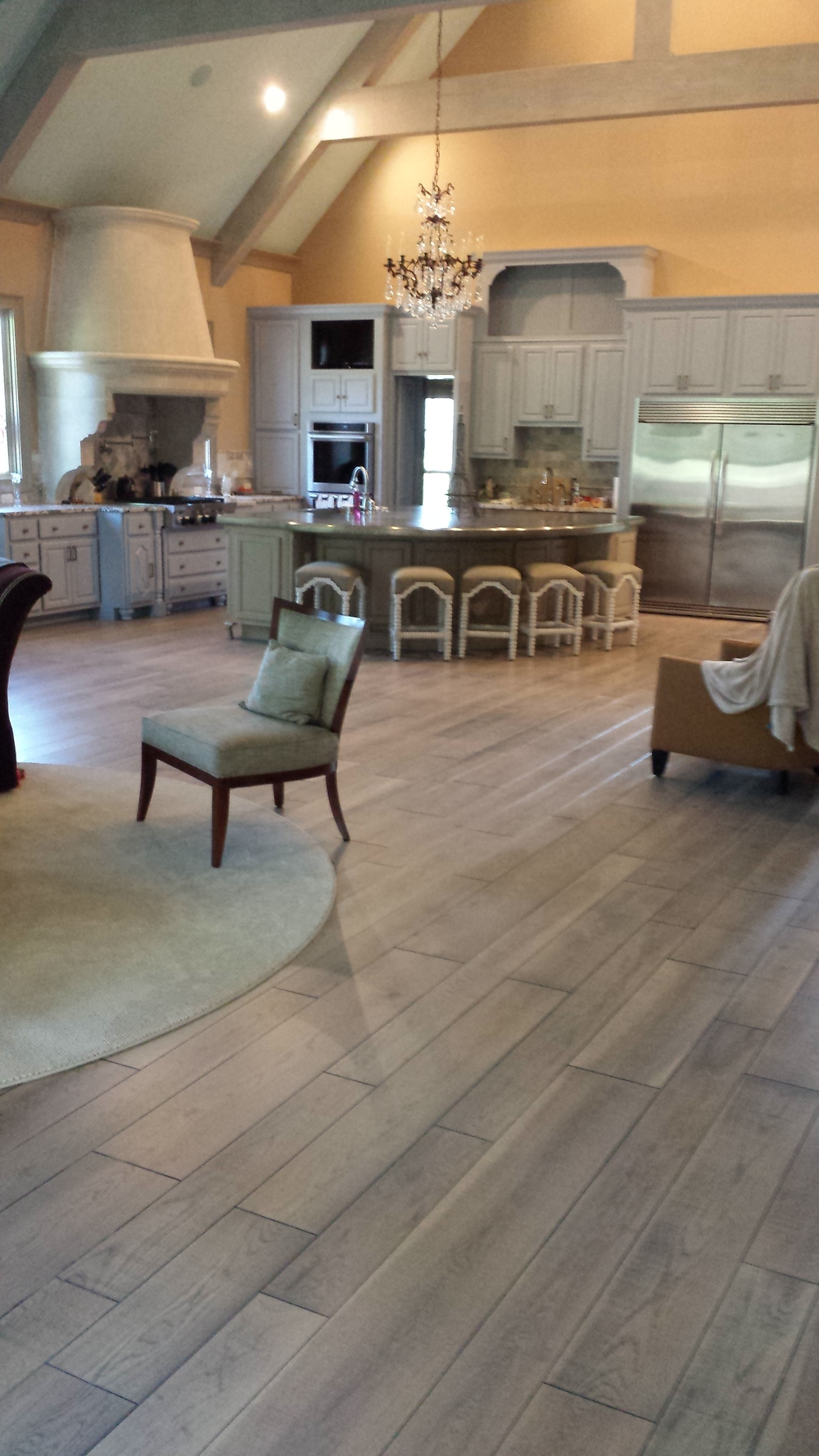 Custom hardwood flooring colors sullivan hardwood - Grey wood floors modern interior design ...