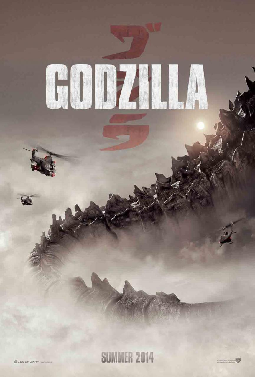There is no reason for it to always be this cloudy around Godzilla. No reason. But it always is. Or foggy. Or smoky. Or dark. Pretty much don't count on actually seeing him or any other monster well in this movie.