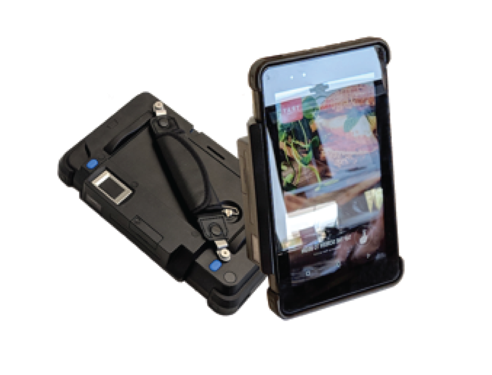 Pay-at-the-Table Server Handhelds