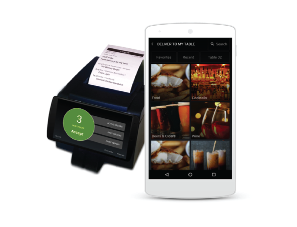 User-Facing Seat-Ordering App