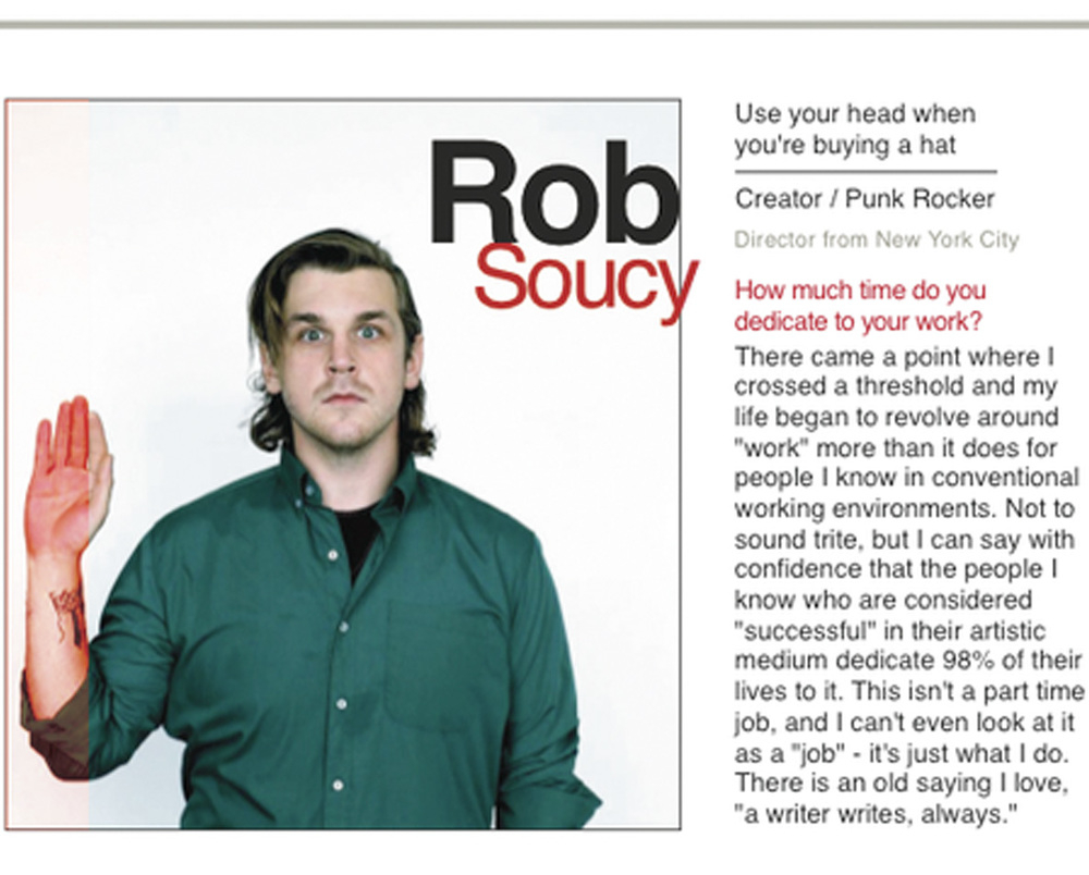 TOSSER MAGAZINE  //  Interview