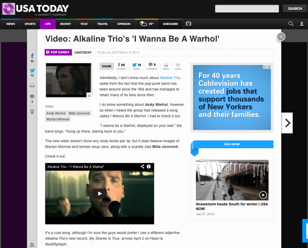USA TODAY   //  Featured