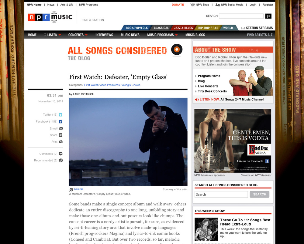 NPR: ALL THINGS CONSIDERED   //  Interview