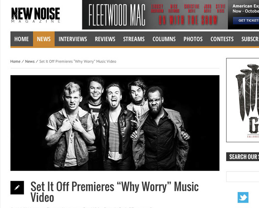 NEW NOISE MAGAZINE   //  Featured