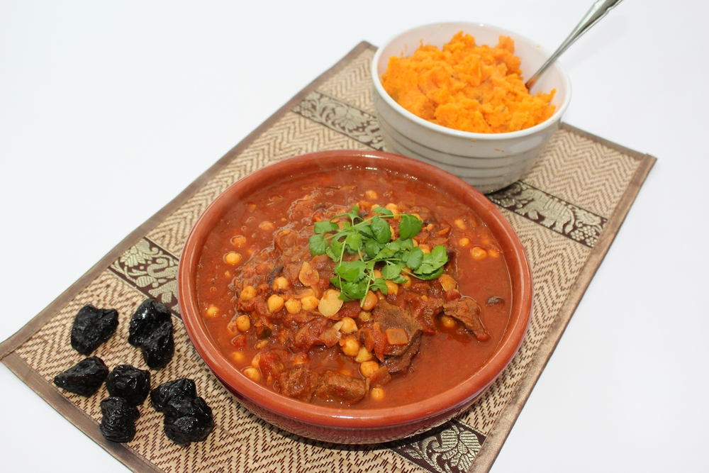 Moroccan Beef & Chickpea Stew