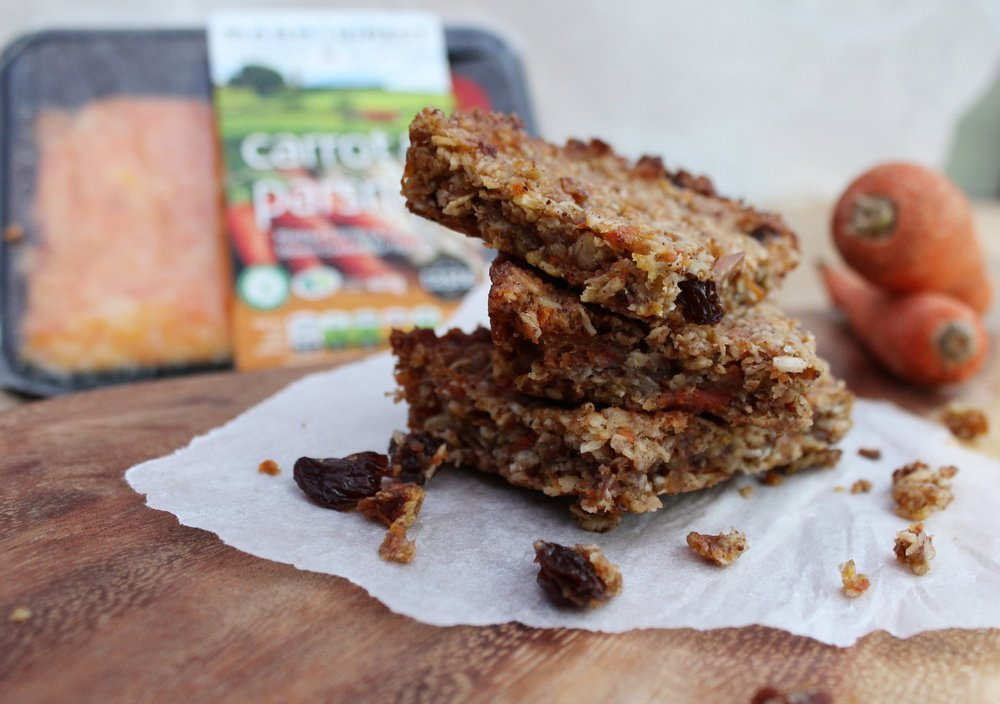 Carrot & Parsnip Flapjacks