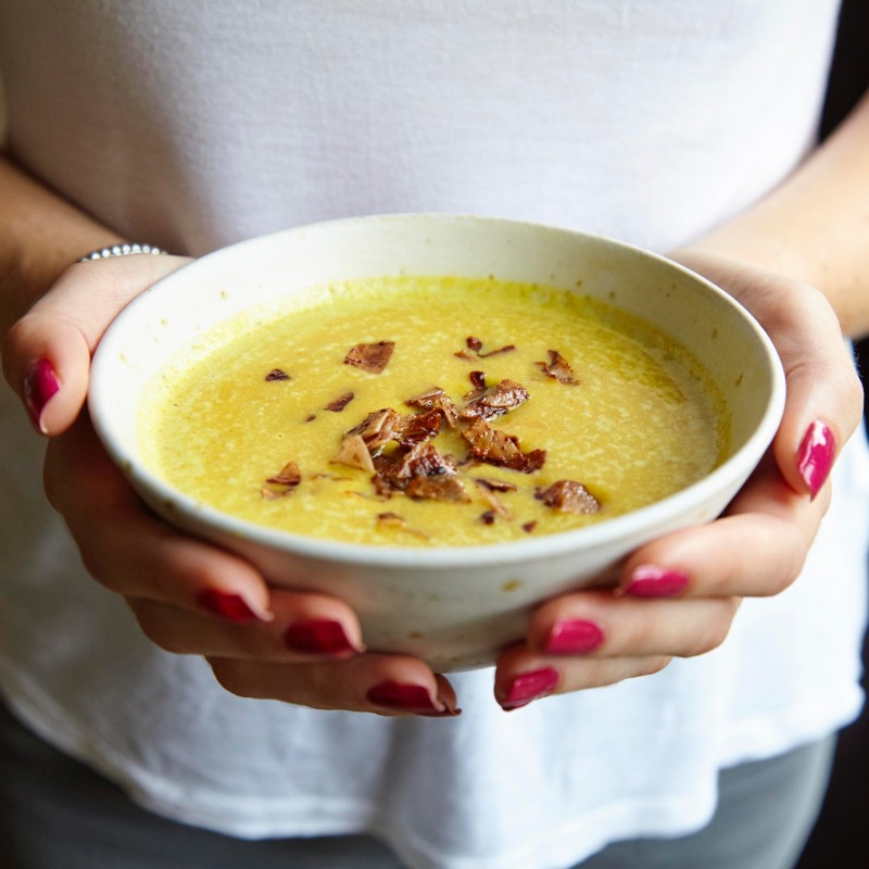 Click here to make Madeleine's Pumpkin Soup
