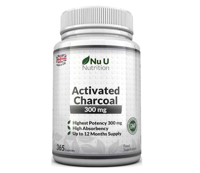 Click here to buy Activated Charcoal Tablets from Amazon