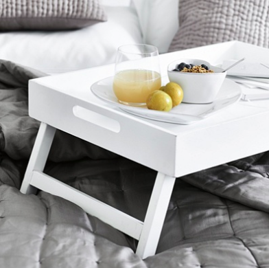 Breakfast in Bed Tray, The White Company, £65