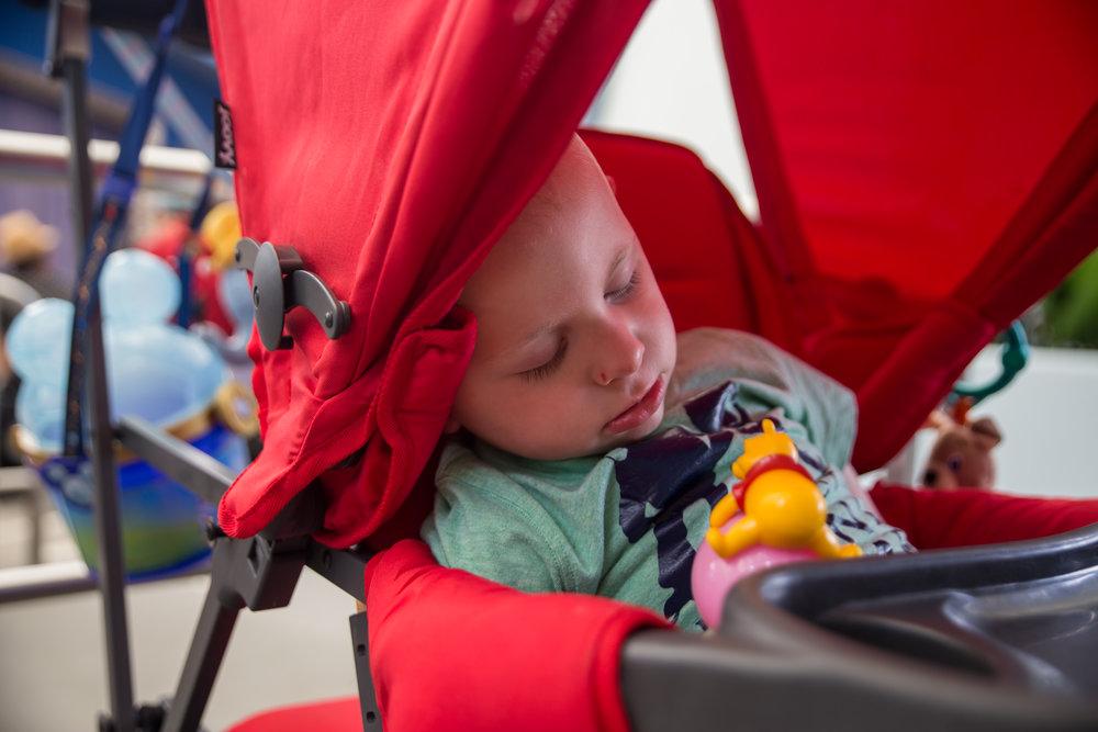 Tokyo Disneyland is tiring!