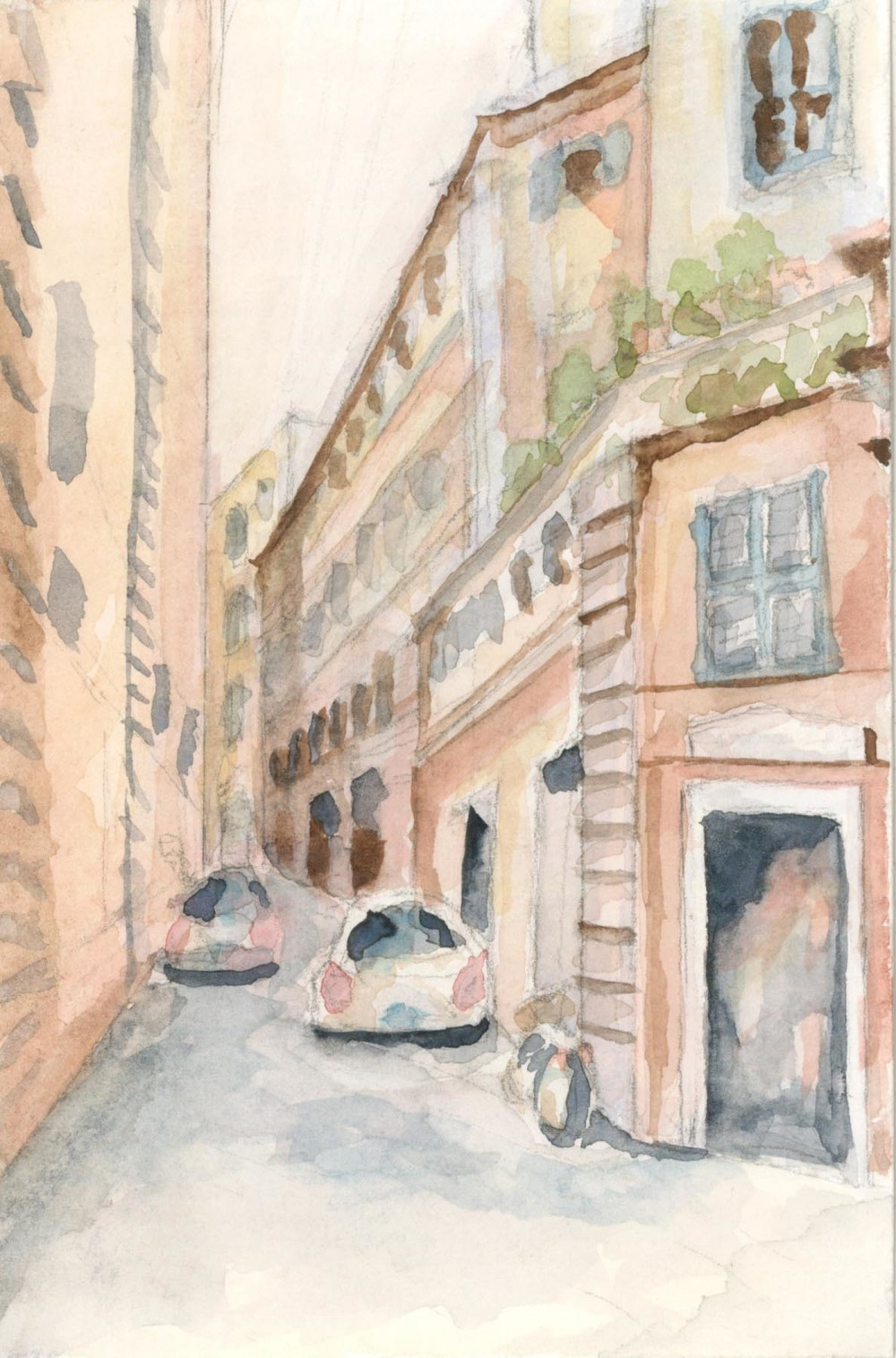 Rome, Pompeii watrclr stdy.jpg