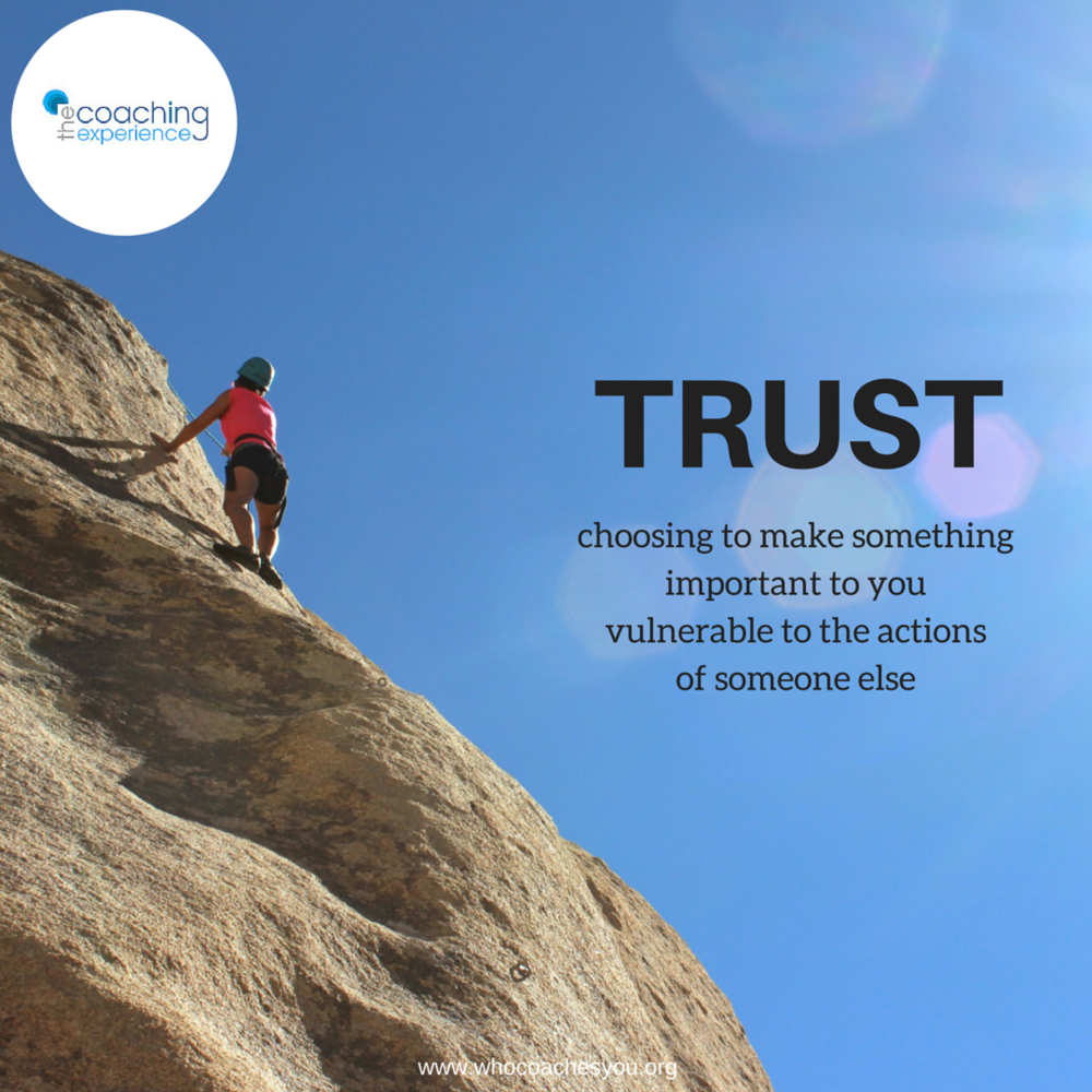 The Insider's Guide to Building Trust on Your Team — Who Coaches You?