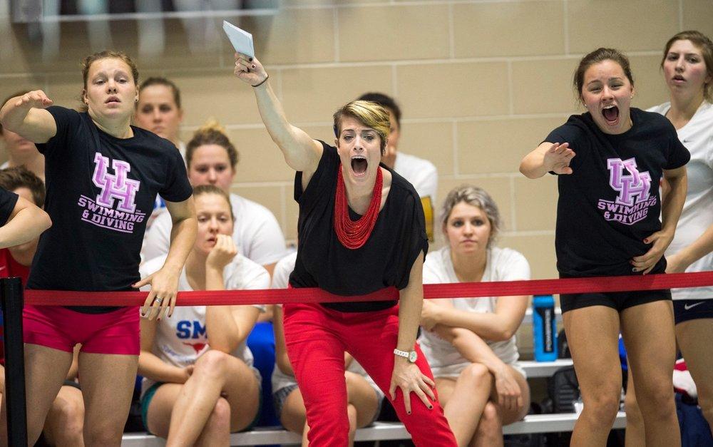Hannah Burandt, Assistant Swim Coach, University of Houston